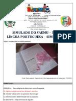 SIMULADO - 5º ANO - LÍNGUA PORTUGUESA - SIMULAÇÃO 2 - GABARITADO