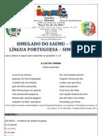 SIMULADO - 5º ANO - LÍNGUA PORTUGUESA - SIMULAÇÃO 4 - GABARITADO