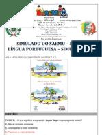 SIMULADO - 5º ANO - LÍNGUA PORTUGUESA - SIMULAÇÃO 11 - GABARITADO