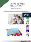 Catalogue Formation Cedrat2013