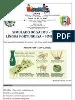 SIMULADO - 5º ANO - LÍNGUA PORTUGUESA - SIMULAÇÃO 13 - GABARITADO