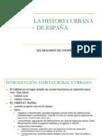 TEMA 8-LA HISTORIA URBANA DE ESPAÑA