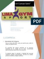 Presentación Lima Gym Sport