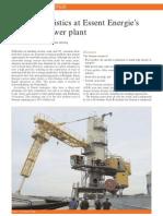 Biomass Logistics at Essent Energie's Co-Firing Power Plant
