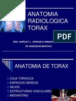 Anatomía Radiológica Torax