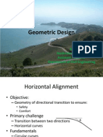 Chapter 5 - Lecture 3-Geometric Design - Horizontal Alignment