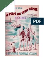Langue Française Lecture Courante CP CE1 Il était un petit navire Picard Jughon CE2