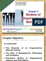 Models of Organizational Behavior1