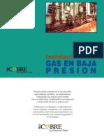 Instalaciones Gas Baja Presion - Con Cobre