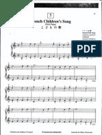 Suzuki Piano School Volume 1-French Children