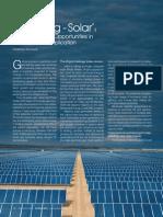 Article on 'Solar Energy