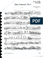 Arnold,M. Concierto Nº2 op.111 FL. Ed. Faber music - Schirmer
