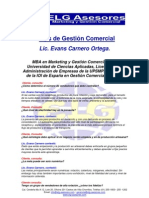 Tips de Gestión Comercial Lic.Evans Carnero - Entrevista