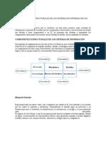 COMPONENTES ESTRUCTURALES DE LOS SISTEMAS DE INFORMACIÓN