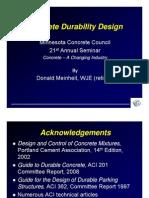Donald Meinheit Durability Presentation 3-3-10