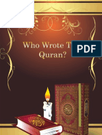 Who Wrote The Quran ?