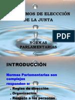 3.0 Normas Parlamentarias