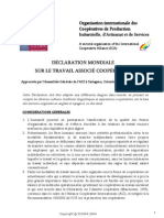 Declaration Approved by ICA - Fr