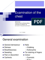 Examination of Chest