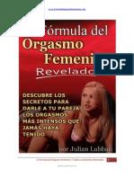 La Formula Del Orgasmo Femenino PDF