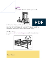 Las máquinas textiles