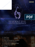 RESIDENT EVIL 6 Digital Soundtrack_info