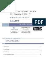 51st SMS Pan Atlantic Omnibus Poll