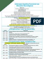 XII - Curso Fisioterapia Aquática Funcional