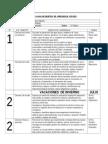 5 básico plan  anual