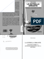 Félix Duque - La estrella errante. Estudios sobre la apoteosis romántica de la historia (1997)