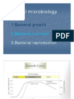 Growth, Nutrition and Reproduction of Bacteria