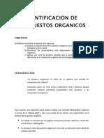 Identificacion de Compuestos Organicos
