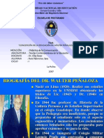Concepcion de La Educacion de Walter Penaloza