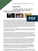 Copérnico - Nota de La Voz del Interior - 24-02-13