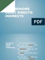 Les pronoms objet directs indirects (version modifiée)