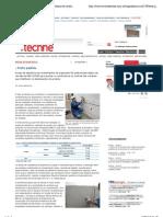 Revista Téchne _Teste padrão - Ensaio de aderência