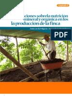 Consideraciones sobrela nutrición mineral y oraganica cafe - cap 9