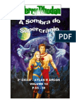 """Perry Rhodan - 2º Ciclo """"Atlan e Árcon"""" - Volume XII - A Sombra do Supercrânio. P-55-59."""