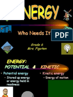 Energy & Motion