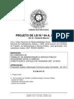 Avulso -PL 64_2007