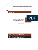 FFIEC ITBooklet Operations