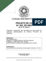 Avulso -PL 263_2003