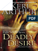 Deadly Desire by Keri Arthur (sneak preview)