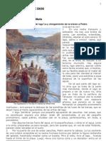 633 Aparición en la orilla del lago y otorgamiento de la misión a Pedro