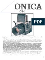Bronica Gs 1 Medium format camera