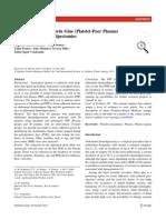 Autologous Fibrin gLue