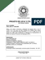 Avulso -PL 5733_2009