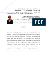losbeneficiospenitenciariosdesemi-libertadyliberacincondicionalylanecesariaevaluacinobjetivadeljuezalaluzdelosprincipiosconstitucionalesdelrgimenpenitenciario-120425141156-phpapp02