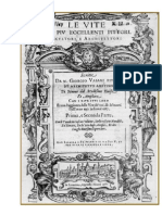 Giorgio Vasari the Lives of the Most Eminent Painters Sculptors and Architects