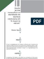 DISCURSO+METAFÓRICO+EM_A+MAÇÃ+NO+ESCURO_+DE+CLARICE+LISPECTOR